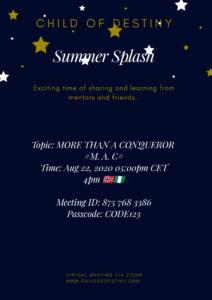 Event invite.